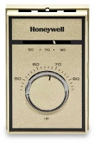 T451A3005/U Honeywell Light to Medium Duty Line Voltage Thermostat