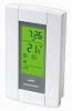 TH115-A-240D Honeywell Aube Double Pole Line Voltage Programmable Thermostat - Rating: 240 / 60 VAC, 15.0 amps
