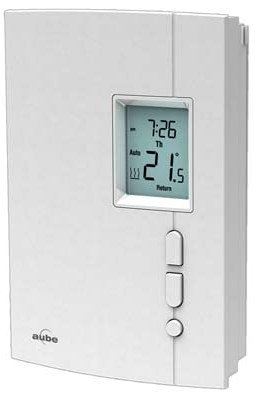 Th404 Honeywell Aube Line Voltage Programmable Wall Thermostat