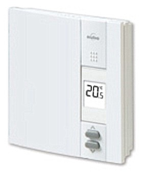 Th450 th305 honeywell aube line voltage non programmable wall thermostat for Th 450 termostato