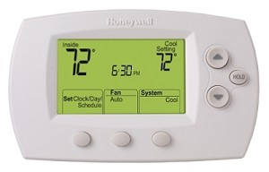 Honeywell TH6110D1005/U Focus Pro Programmable Thermostat
