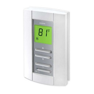 TH114-A-240D Honeywell Aube Line Voltage Non Programmable Thermostat - 240 VAC - 3600 Watts - 15 Amps