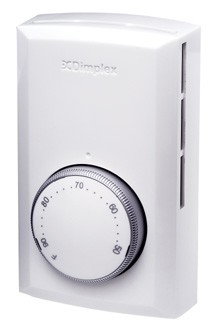 Dimplex TS521W Single Pole Line Voltage Thermostat